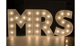 Napisy Świetlne MR&Mrs Broadway - Sprzedaż